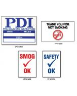 Static Cling Sticker Reminders