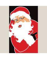 Santa Claus Holiday Decal