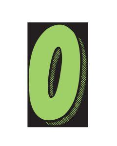 "VINYL PRICERS: #0 GREEN / BLACK 7.5"""