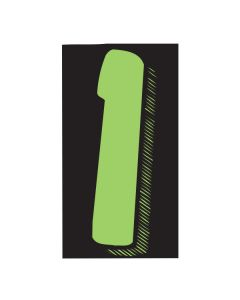 "VINYL PRICERS: #1 GREEN / BLACK 7.5"""