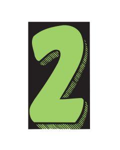 "VINYL PRICERS: #2 GREEN / BLACK 7.5"""