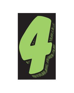 "VINYL PRICERS: #4 GREEN / BLACK 11.5"""