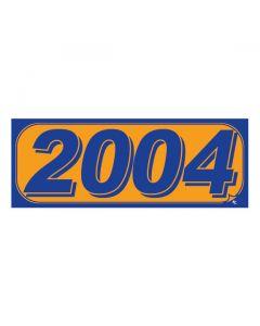 RECTANGLE MODEL YEAR: 2004 ORANGE/BLUE