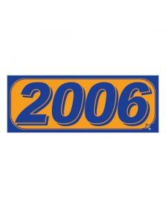 RECTANGLE MODEL YEAR: 2006 ORANGE/BLUE