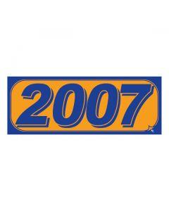 RECTANGLE MODEL YEAR: 2007 ORANGE/BLUE