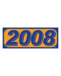 RECTANGLE MODEL YEAR: 2008 ORANGE/BLUE