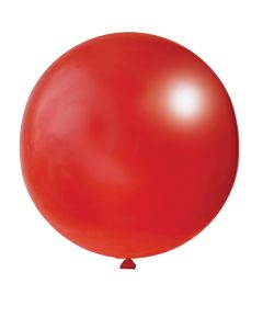 Balloons: 24 inch Weekender red
