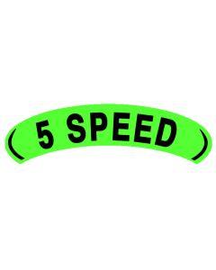 Arch Slogans:Green/Blk 5 Speed