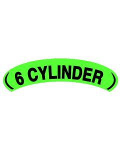 Arch Slogans:Green/Blk 6 Cylinder