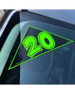 Angle Model Years on vehicle green-black