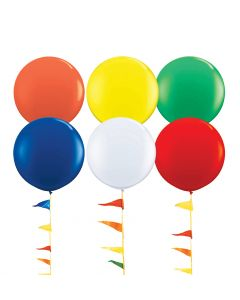 Giant Balloons: 3 Foot colors