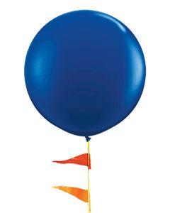 Giant Balloon 3 foot sapphire blue