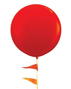 Giant Balloon 5 1/2 foot red