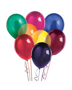 Balloons: 17 inch Jumbo Assortment Crystal