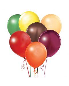 Balloons: 17 inch Jumbo Assortment Autumn