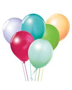 Balloons: 17 inch Jumbo Assortment Tropical