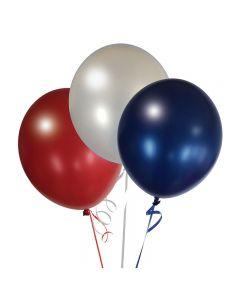 Balloons: 17 inch Jumbo Assortment Metaltone