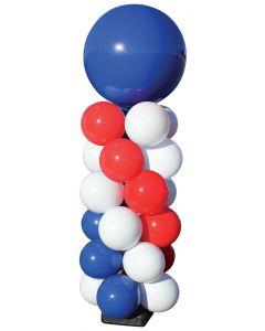 Jumbo Reusable Patriotic Balloon 6 Cluster Kit