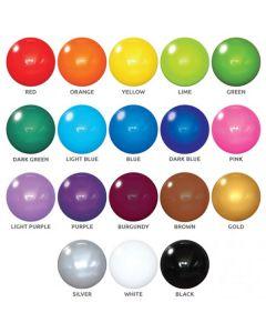 "PermaShine 30"" Reusable Replacement Balloon colors"