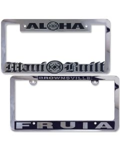 Chrome-Plated Plastic Frame