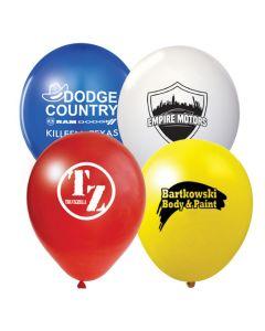 """custom 17"""" Jumbo Balloons blue white red yellow"""