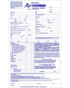 Custom Form: 8.5 x 14 1-part