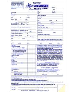 Custom Form: 8.5 x 14 2-part