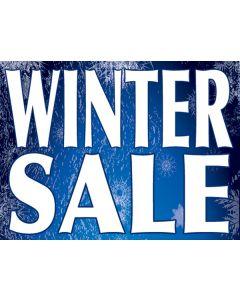 "Winter Sale 18"" X 24"" Curb Signs"
