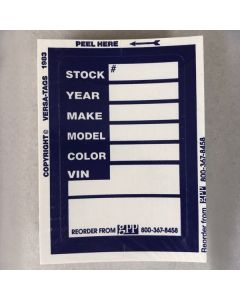 Stock Stickers: Blue