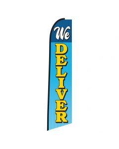We Deliver Swooper Flag