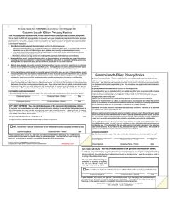Privacy Notices 100 Per Pack