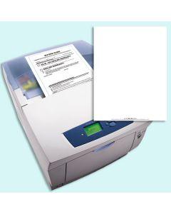 Blank Laser Forms and laser printer