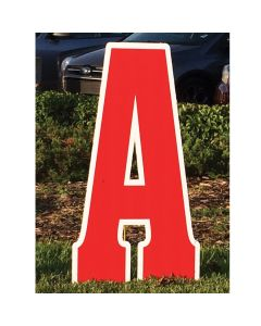 """Giant Curb Letter  """"A"""""""
