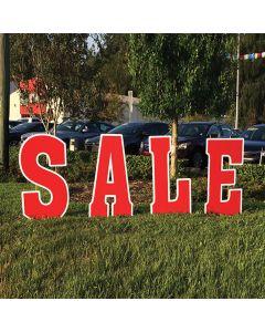 Giant Curb Letter Sale Kit
