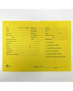 Deal Jacket: Lightweight yellow