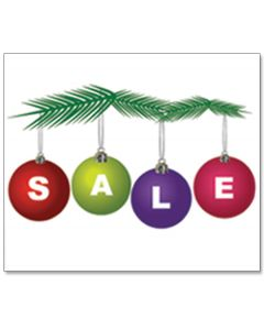 Clip-on Car Window Flags: Holiday SALE Bulbs multi-colored A