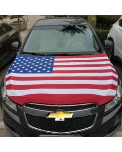 Hood Banners: Large on vehicle hood in an auto dealership styles