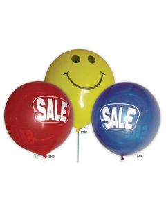 Giant Balloons: 3 Foot Imprinted styles colors