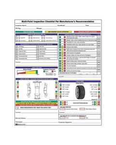Multi-Point Inspection Forms