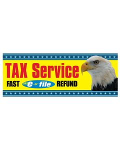 Tax Service efile Yellow Eagle Banners