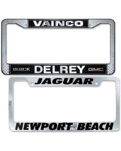 Metal License Plate Frames