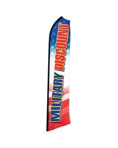 Military Discount Swooper Flag
