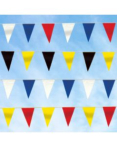 Economical 60' Triangular Pennant Strings colors