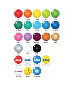 Premium Reusable Balloons colors styles