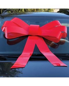 Red Windshield Bow