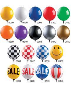 Reusable Balloon Window Kit colors styles