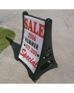 Quick Load A-Frame Sidewalk Sign Kit