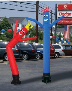 10 foot dancing air puppet kits at auto dealership