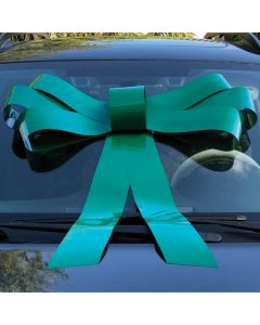 Windshield Bow: Green on vehicle in auto dealership
