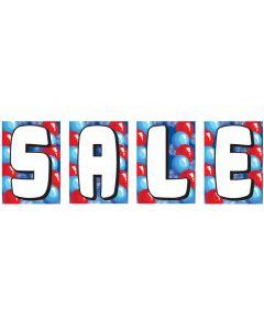 Underhood SALE Kits: F red blue balloons white